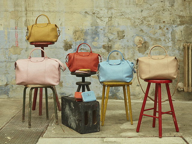 Longchamp: The iconic Le Pliage Cuir | Milled