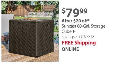 Suncast Storage Cube