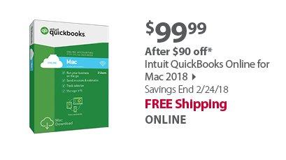 Intuit QuickBooks Online for Mac 2018