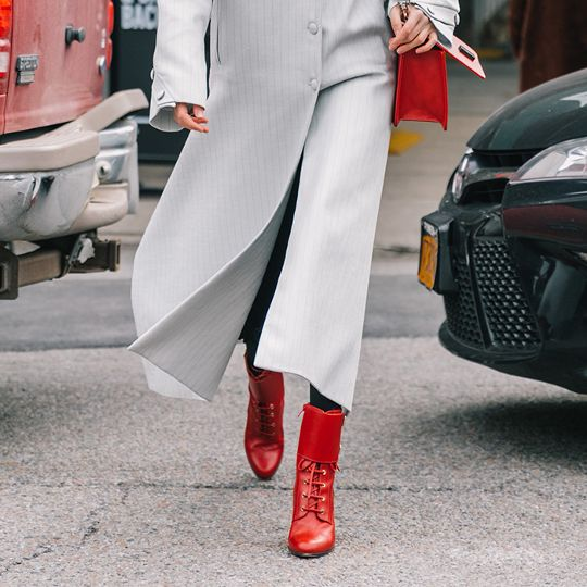 The Pretty Spring Ankle Boot Trend You'll Wear With Everything
