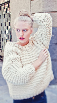 5dc984c0c25795 WE ARE KNITTERS  This is your kind of sweater.