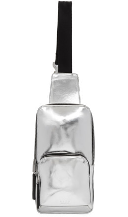 Alyx - Silver Small Metallic Backpack