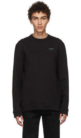 Raf Simons - Black Joy Division Print Sweatshirt