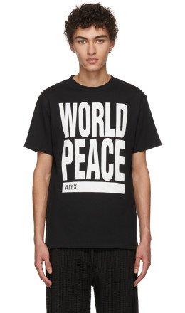 Alyx - Black 'World Peace' T-Shirt