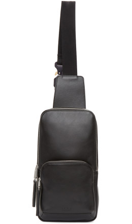 Alyx - Black Small Leather Backpack