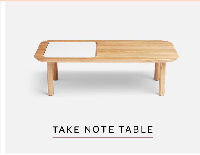 Take Note Coffee Table