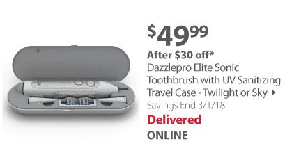 Toothbrush W/ Travel Case