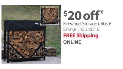 Firewood cribs
