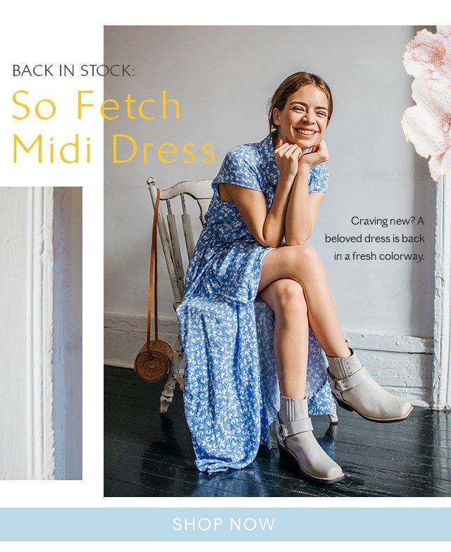 So Fetch Wrap Dress