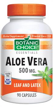Aloe Vera 500 mg. | Soothes & Cleanses for Gastro-Intestinal Health