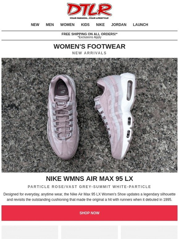 sports shoes 44878 82f49 DTLR (Down Town Locker Room): Womens New Arrivals | Now ...