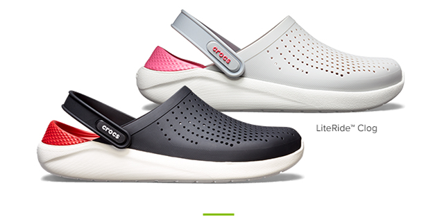 b3ac344fb406 SIGN UP TO BE FIRST TOSHOPTHE LITERIDE COLLECTION · LiteRide foam footbeds  are the newest ...