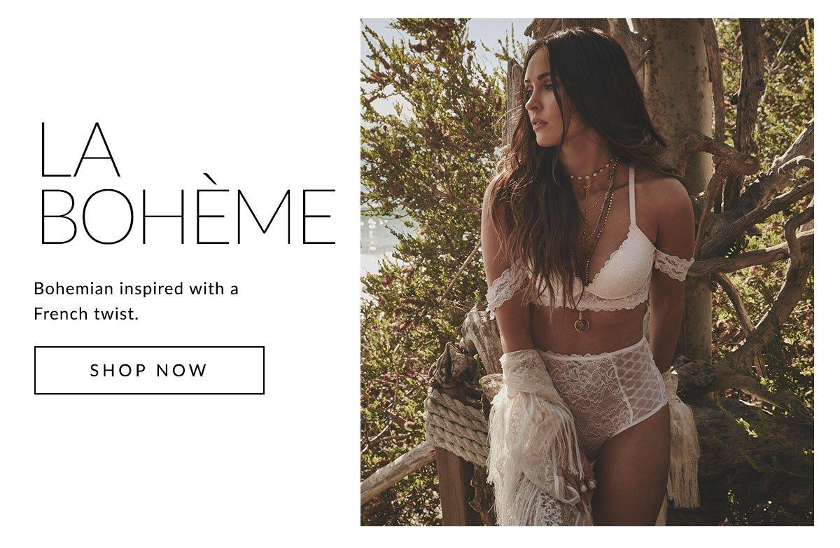 La Boheme | Bohemian inspired with a French twist. | Shop Now