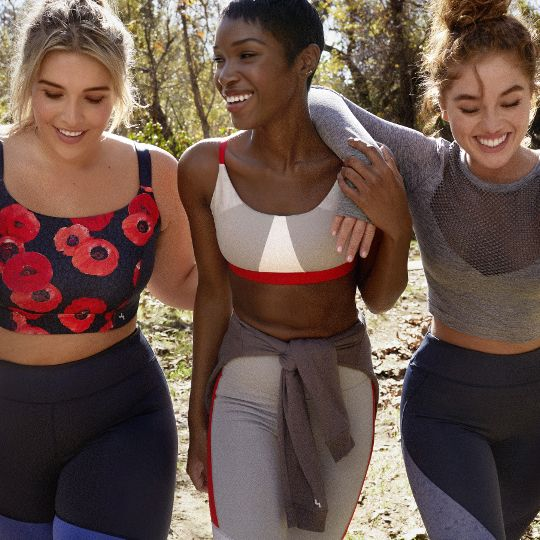 7 Pretty, New Sports Bras You'll Regret Not Buying