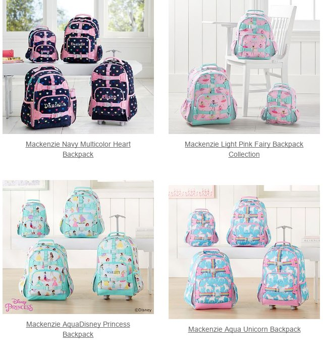 1d99235550f8 Mackenzie Lavender purple Preppy Butterflies Backpack