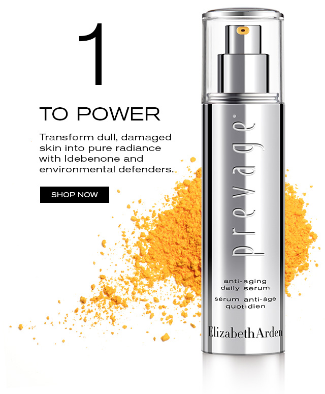 1. TO POWER  Transform dull, damaged skin into pure radiance  with Idebenone and environmental defenders.   SHOP NOW