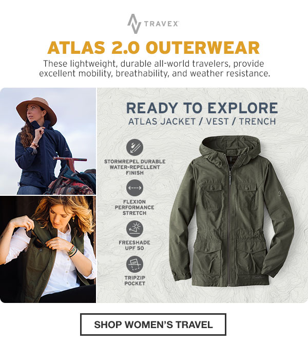 Eddie Bauer: Your Go Anywhere, Do Anything Jacket | Milled