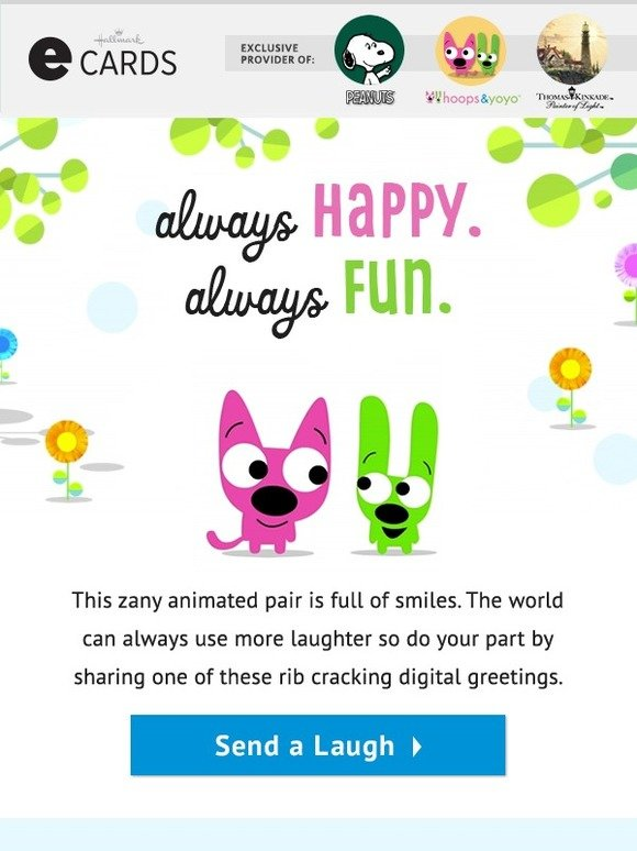 Hallmark Ecards Ecards Full Of Laughs Milled