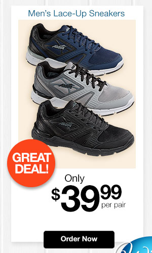 Avia Lace-Up Sneakers