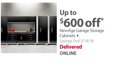 NewAge Garage Storage Cabinets