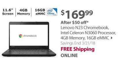 Lenovo N23 Chromebook