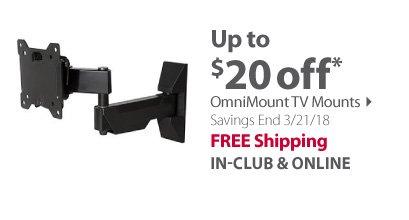 OmniMount TV Mounts