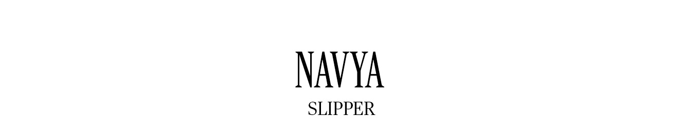 NAVYA SLIPPER