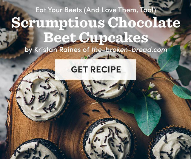 Chocolate Beet Cupcakes - Get Recipe