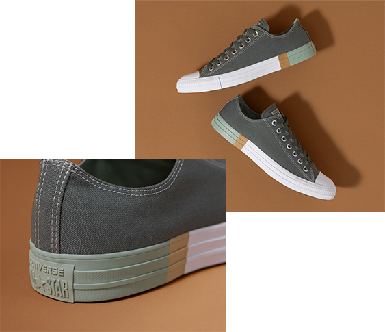 Shop Now  Converse One Star Color-Blocked Platform 5be83a654