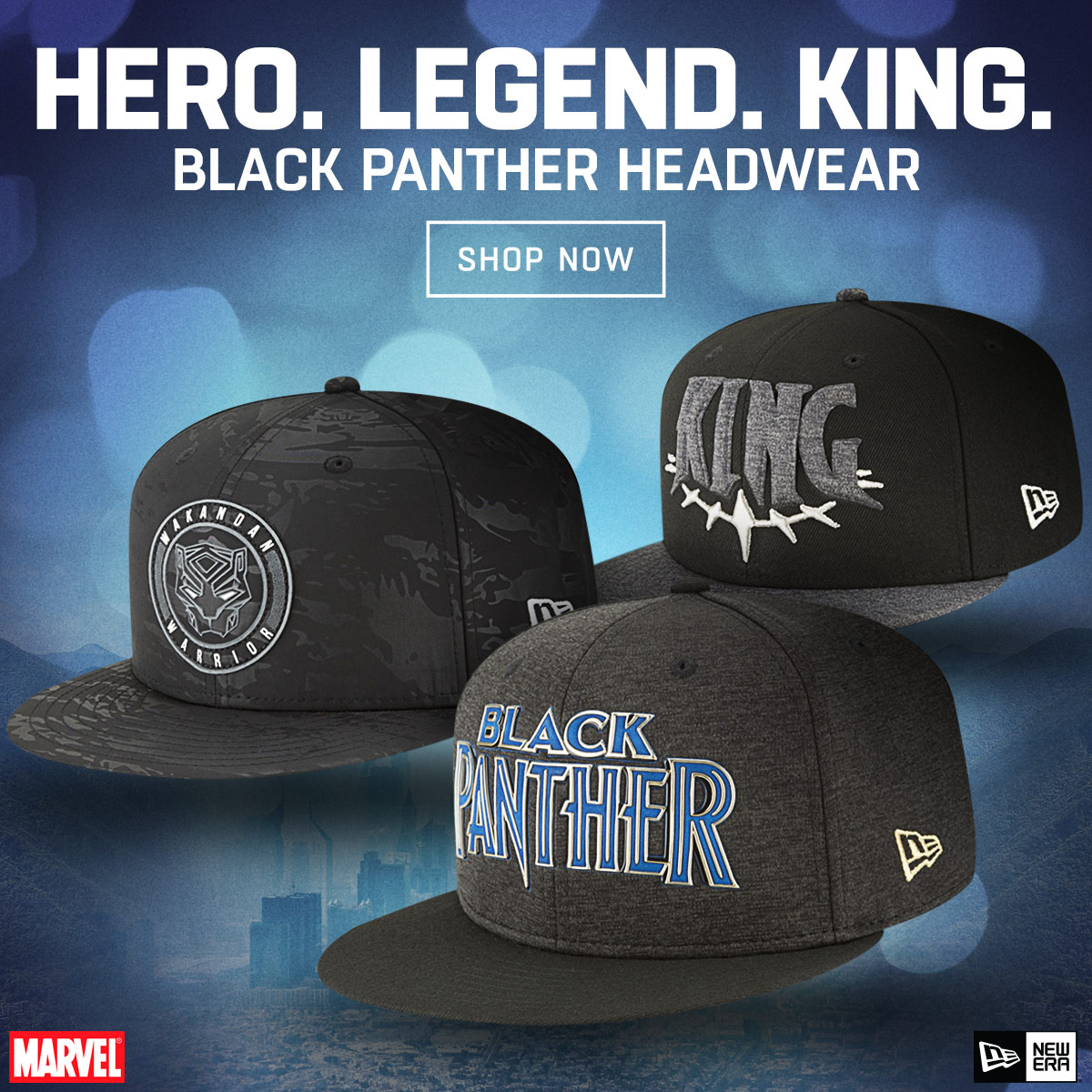new arrival 50dcc e3238 Marvel Black Panther Headwear