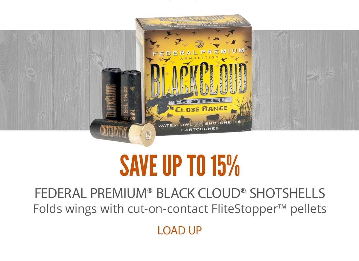 Federal Premium Black Cloud Shotshells