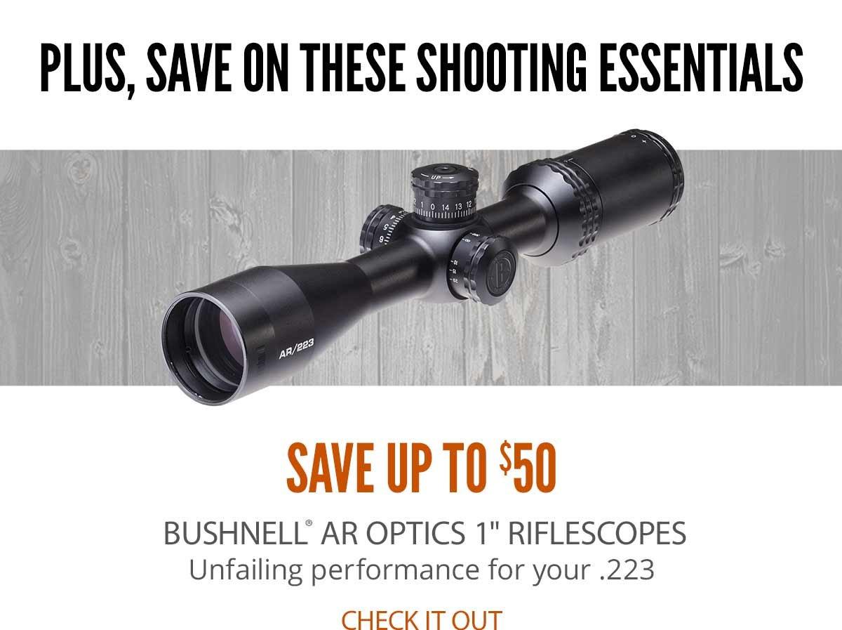 Bushnell AR Optics Riflescopes