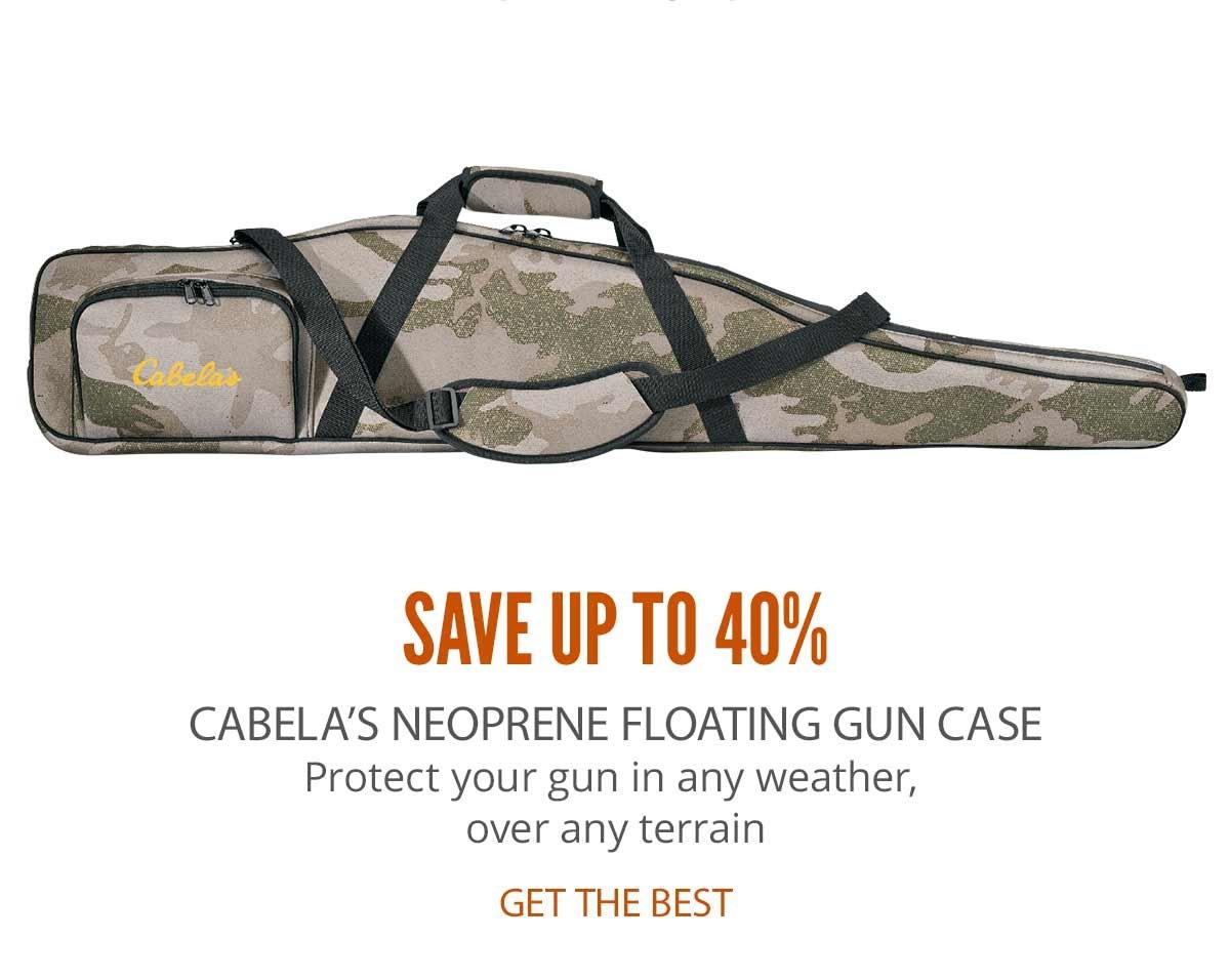 Cabela's Neoprene Floating Gun Case