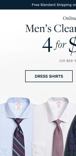 MEN'S CLEARANCE SHIRTS | DRESS SHIRTS