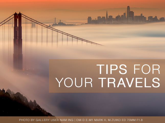 TIPS FOR YOUR TRAVELS