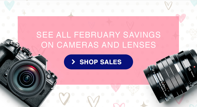 SEE ALL FEBRUARY SAVINGS ON CAMERAS AND LENSES