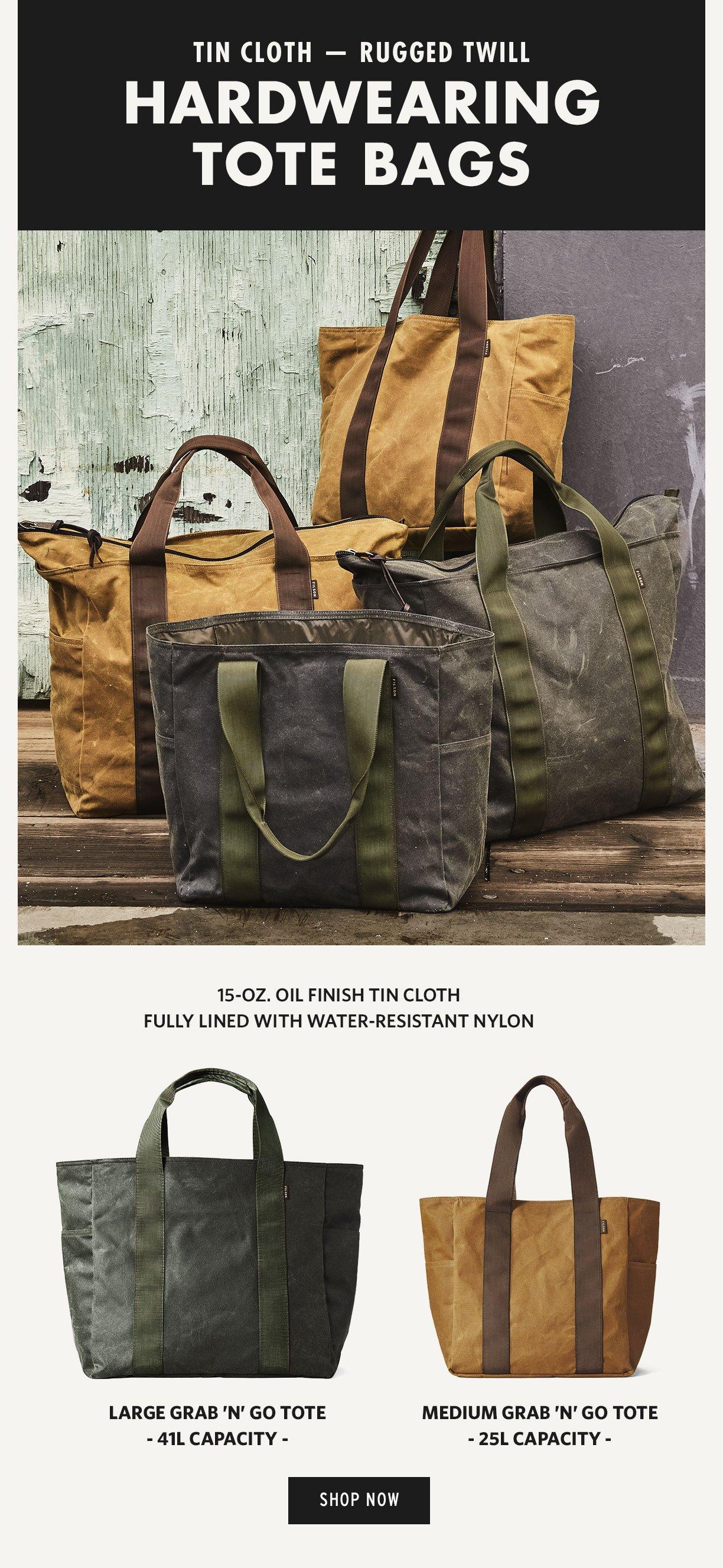 Filson Heavy Duty Tote Bags Milled