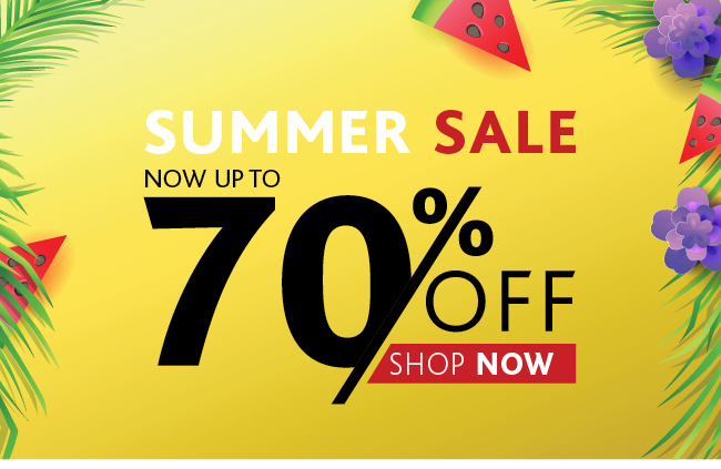 Summer Sale Save Up TO 70% Online and In Store