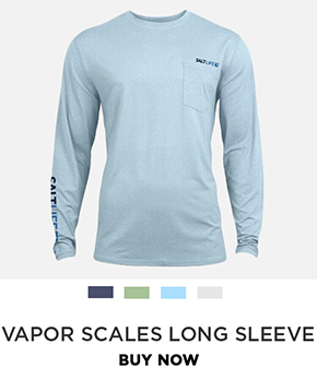 Vapor Scales Performance Long Sleeve Tee