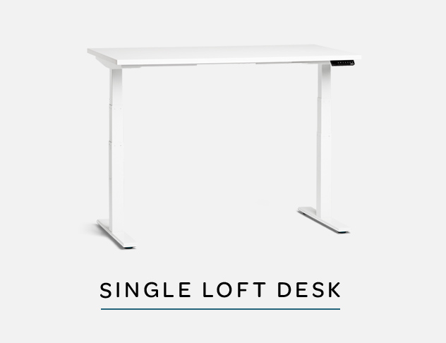 Loft Adjustable Height Desk