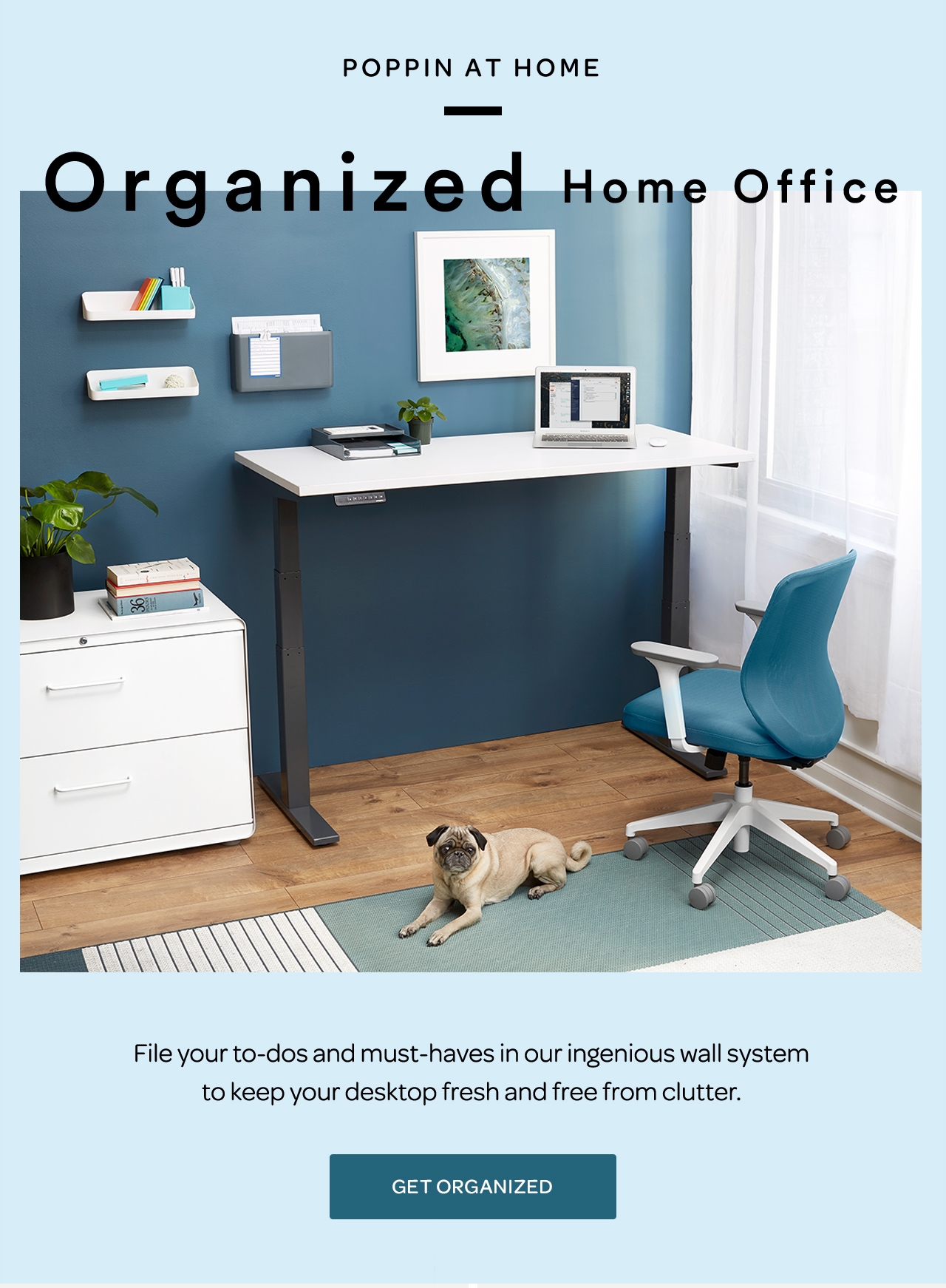 The Organized Home Office