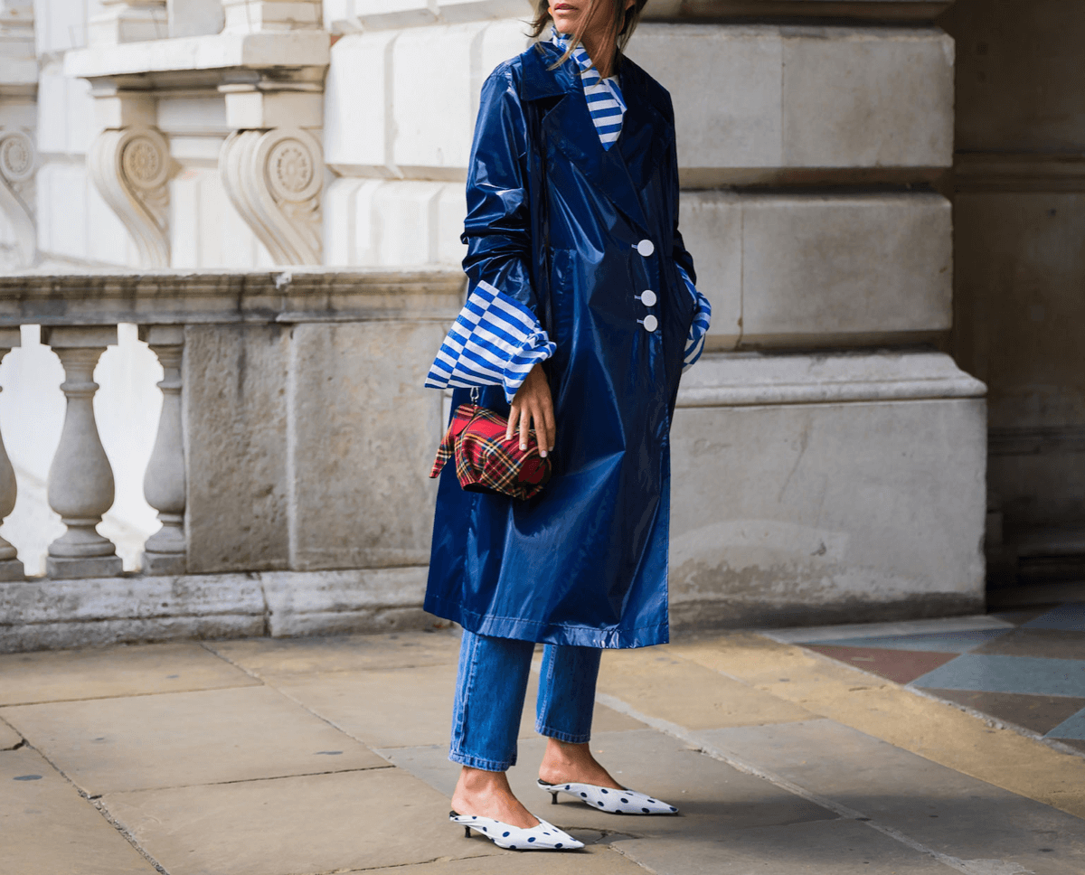 Fashion Uniform: Trench Coat + Jeans + Mules