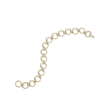 LOOP BRACELET WITH DIAMOND LINKS  Eriness  $1,665
