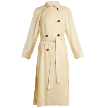 Elizabeth & James Dakotah Double Breasted Trench Coat, $972