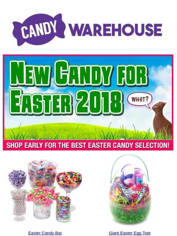 Candy Warehouse: New Candy for Easter 2018 | Milled