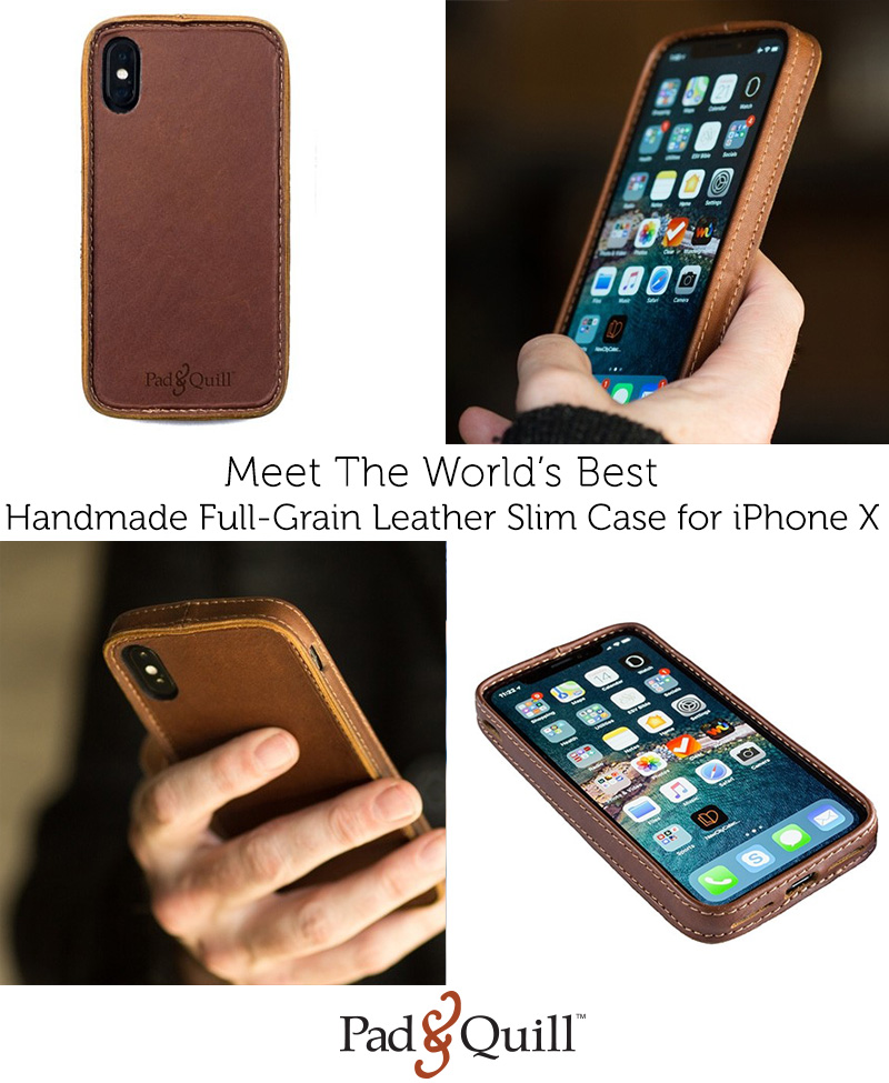 online store 615b3 cc1ef Pad & Quill: Best handmade full-grain leather iPhone case in the ...