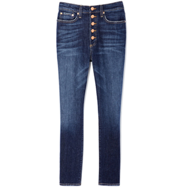 AO.LA Good High-Rise Button-Fly Jeans $275