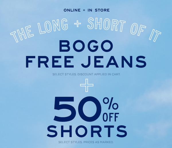 BOGO Free Girls Jeans