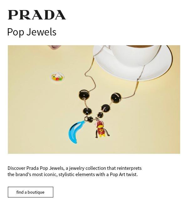 Prada Prada Pop Necklace W8jYLlL