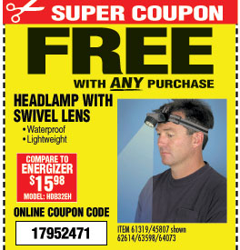 Harbor Freight Free Free Free Milled